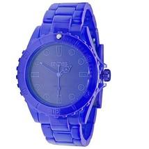 EOS New York Unisex Marksmen Plastica Blu Quarzo Analogico Orologio#359SBLU Nib