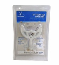 """BRAND NEW 42"""" Westinghouse 77401 Ceiling Fan Blade Arms (5) - White Fini... - $24.74"""