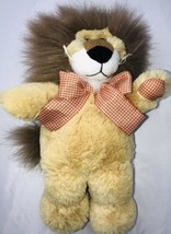 "14"" Animal Adventure 2008  Lion Stuffed Plush TOY Soft Lovey Sweet Sprouts - $21.03"
