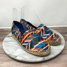 Circus Sam Edelman Laila Womens Size 6 Multi Color Slip On Espadrille Flats - $26.95