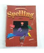 Steck Vaughn Spelling Level 4 Teacher Edition Spiral Bound Book Homescho... - $9.99
