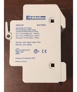 Ferraz Shawmut USCC21 D217008 UltraSafe Fuseholder 2P 30A 600VAC/DC w/ F... - $12.00