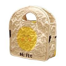 PANDA SUPERSTORE Handbag Lunch Bag Handmade Cotton Carrier Bag Lunch Tote Bag Cu