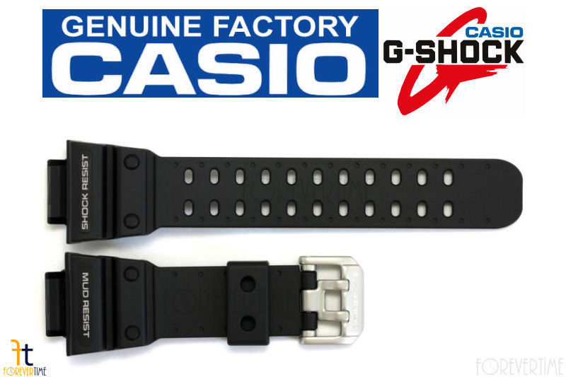 Primary image for Casio 10365764 Genuine Factory Replacement Resin Watch Band fits GX-56-1B GXW-56