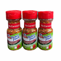 3 Bottles of McCormick Perfect Pinch Roasted Garlic & Bell Pepper Exp 02/2022 - $57.42