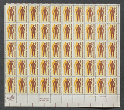 Osteopathic Medicine, Sheet of 8 cent stamps, 50 stamps - $7.50