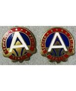 U.S. 3rd Army ARCENT Army Central DUI Unit Insignia Pinbacks Vintage - $21.78