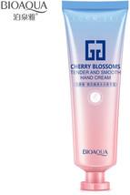 60g BIOAQUA Sakura Cherry Blossoms perfumed Hand Cream Moisturizer White... - $13.04