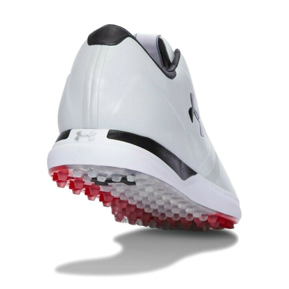 UNDER ARMOUR UA PERFORMANCE SPIKELESS GOLF SHOES SIZE 11.5 NEW W/BOX(129177-101) image 2