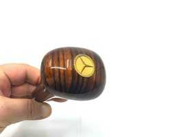 GEAR SHIFT KNOB ZEBRANO GOLD GOLDEN AUTOMATIC FOR MERCEDES W124 W126 W20... - $74.71