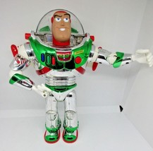 "Toy Story Buzz Lightyear Holiday edition Talking Action Figure 12"" Disne... - $34.99"