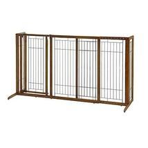 Richell USA DELUXE FREESTANDING PET GATE W/DOOR LARGE 94190 Pet Gate NEW - $336.98