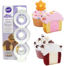 Wilton Cupcake Insert Sweet Surprises Two Tone Multi-colored Multi-flavored - $19.85
