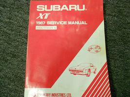 1987 Subaru XT Service Reparatur Shop Manuell Set Fabrik OEM Bücher 87 image 6
