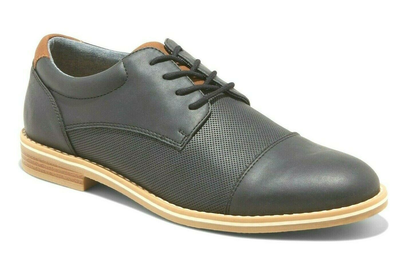 Goodfellow & Co. Black Casual Jarmarcus Lace Up Loafer Shoes Sz 12 US NWT