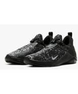 Nike Womens React Metcon Training running comfort laceless black whiteBQ... - $79.99