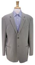 * ARMANI COLLEZIONI * Beige/Gray Check Woven Wool-Cotton 2-Btn Sportcoat... - $66.50