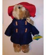 Vintage Paddington Bear byEden Toys 1972, 1983 Blue Raincoat & Hat NWT ... - $29.69