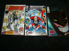 BRIGADE Comic Book Image #1 VF 1st APP of Genocide 1992 2  Part 1 Blood ... - $4.75