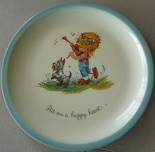 Gigi Collector's Edition Collect Plate- 1972 Plate - American Greetings Happy - $29.69