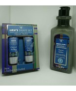 Bolero Men's Shave Cream After Shave Lotion + Shampoo Set -  Charcoal/Bamboo - $21.00