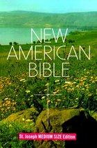 New American Bible, St. Joseph Medium Size Edition Confraternity of Chri... - $8.06