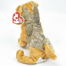 2000 Ty Beanie Baby Whiskers the Schnauzer Terrier Puppy Dog Beanbag Plush Toy image 2