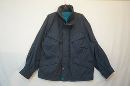 London Fog Vintage Midweight Weatheproof Windbreaker, Navy Blue, Medium ... - $22.82