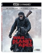 War For The Planet Of The Apes [4K Ultra HD + Blu-ray, 2017]