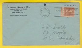 GLOBUS STAMP CO. NEW YORK, NY 1942  - $1.98