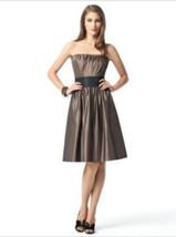 Dessy 2836....Knee-length, Strapless Dress.....Bailey.....Size 6 - €42,70 EUR