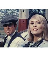Warren Beatty And Faye Dunaway In Bonnie And Clyde In Convertible Car 16... - $69.99
