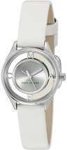Marc Jacobs Women's MJ1460 Tether White Leather Watch - $113.31