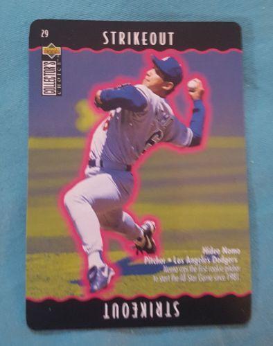 1996 Collector's Choice You Make the Play Dodgers Baseball Card #29 Hideo Nomo