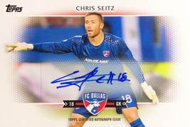 Chris Seitz 2017 Topps MLS Card - FC Dallas - Certified Autograph Issue - Number - $9.99