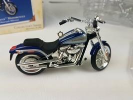 Hallmark 2000 Ornament Harley Davidson Softail Deuce Motorcycle Milestones image 2