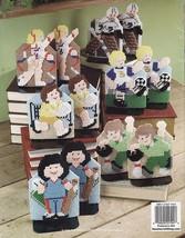 Plastic Canvas Sports Bookend Covers Football Basketball Baseball Golf Pattern - $12.99