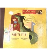 Set Of Three Records J.S. Bach Landowska Menuhin Sonata In E RCA - $18.90
