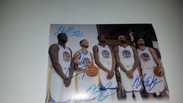 Steph Curry Draymond Green Kevin Durant Klay Thompson Andre Iguodala w/p... - $449.00