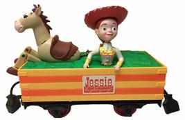 Disney Toy Story Jessie CowGirl Bullseye G Scale Train Coal Car Woody's Roundup  - $37.05