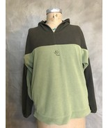 Patagonia Green RHYTHM Fleece Plush Pullover Hoodie Jacket Top XS Olive ... - $43.47
