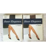 Hanes Women's Sheer Elegance Silky Sheer Control Top, Diff Size & Color ... - $5.98