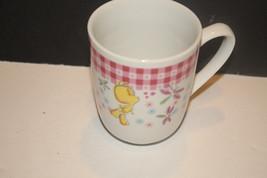 Warner Bros Looney Tunes Tweety Bird flower butterfly Coffee Mug Tea Cup... - $12.62