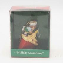 Enesco Pequeño Wonders Mcdonald's Vacaciones Season-Ing Miniatura Ornamento - $23.26