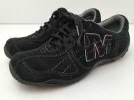 Merrell Womens US 6.5 Shoes Circuit Grid Comfort Black Suede Leather EU3... - $31.14