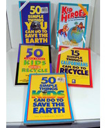 Recycle Save the Earth Book Bundle Lot of Five Earth Works Group Homeschool - $20.85