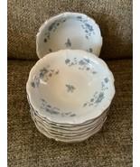 Johann Haviland Blue Garland Traditions Fine China Berry bowl Set of 8 - $39.99