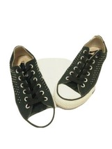 Converse All Star Womens. Size 8 Black Low Top With Mini Rivets - £16.00 GBP