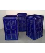 Handmade London Metropolitan Police Box Vase - $55.00
