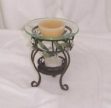 PartyLite  Garden Lites Aroma Melts Holder Exclusive Hostess Gift HB2205 - $12.82